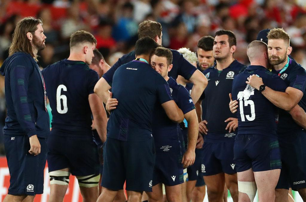 スコットランド2度目のプールステージ敗退 レイドロー「日本が称賛に値する」