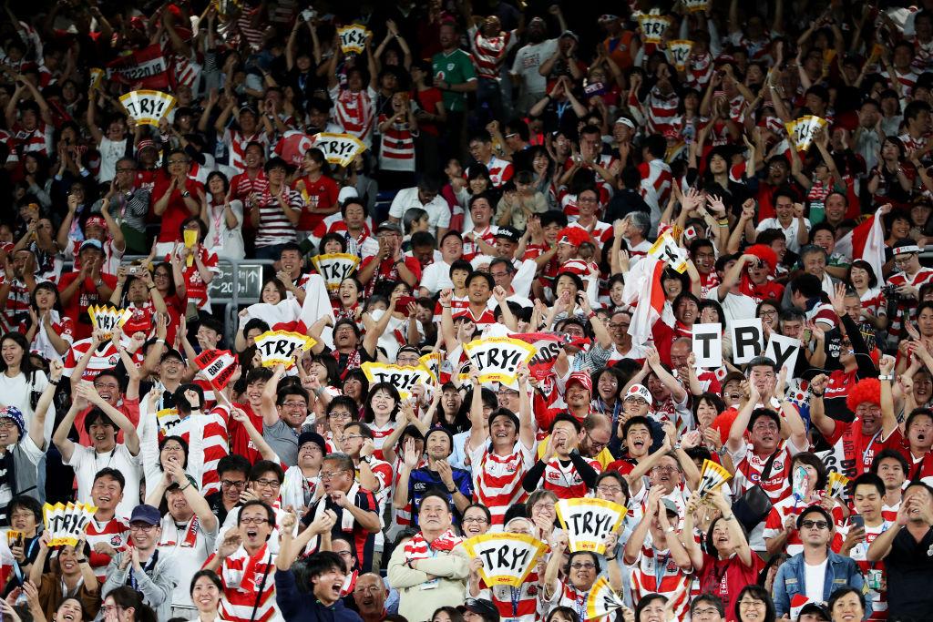 11月2日のラグビーW杯決勝戦、秩父宮でパブリックビューイング開催