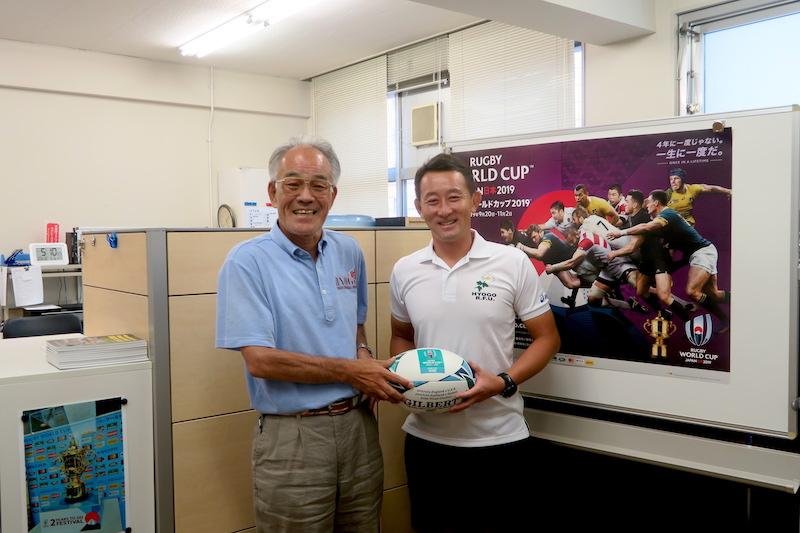 【ラグリパWest】ワールドカップがやって来て。 田中康憲 兵庫県ラグビー協会会長