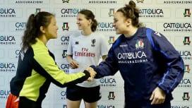 サクラフィフティーンが欧州遠征で奮闘 世界ランク6位の女子イタリア代表と引き分け