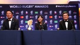 ワールドラグビー年間表彰式で釜石市に特別賞 震災からの復興でW杯開催