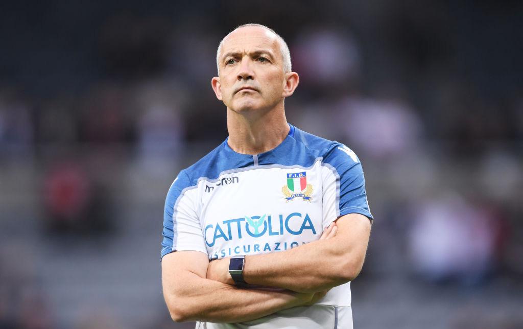 イタリア代表のオシェイ ヘッドコーチ、契約満了前に辞任。イングランド協会入りか