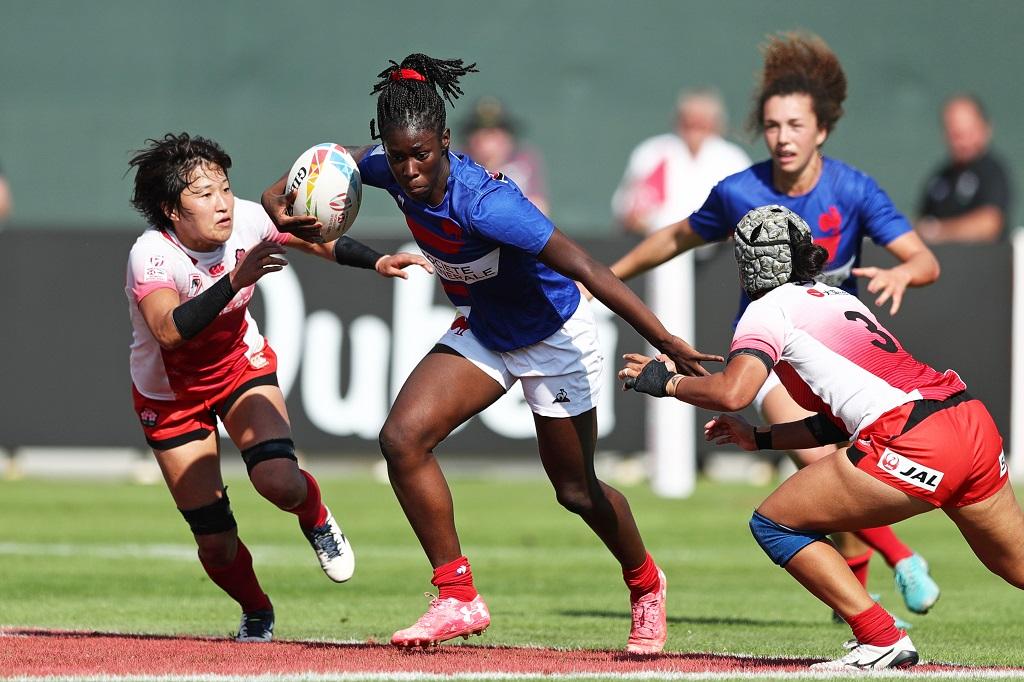 女子セブンズ日本代表はドバイ大会プール戦全敗 ベスト8入りならず