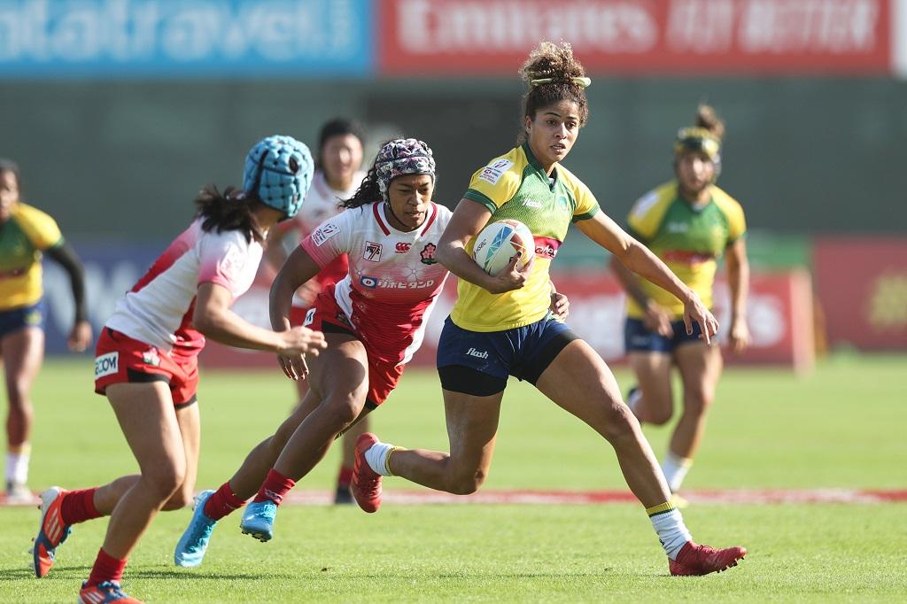 女子セブンズ日本代表はドバイ大会最下位 ブラジル戦は終了間際に逆転負け