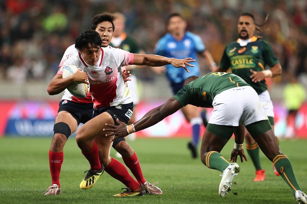 ワールドセブンズシリーズ・ケープタウン大会初日 日本は南アに完敗