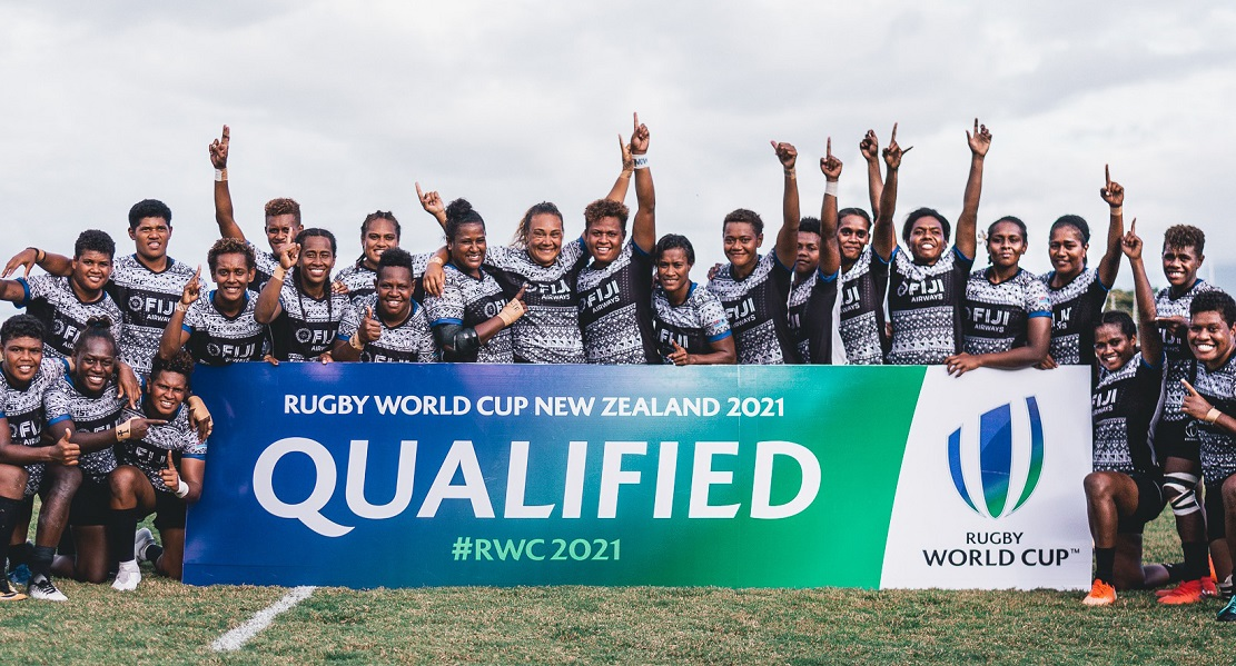 女子15人制フィジー代表、初のワールドカップ出場権獲得!