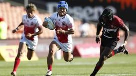 NZセブンズ初日、男子日本は南アに敗れるもケニアと引き分け。