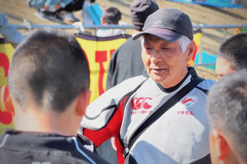 教えるのはラグビーだけじゃない。73歳上野先生、初めての全国大会