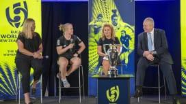 2021年女子ワールドカップの決勝は10月16日、イーデンパークで。