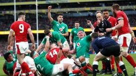 アイルランドが欧州6か国対抗2連勝 地元で昨季王者ウェールズ下す