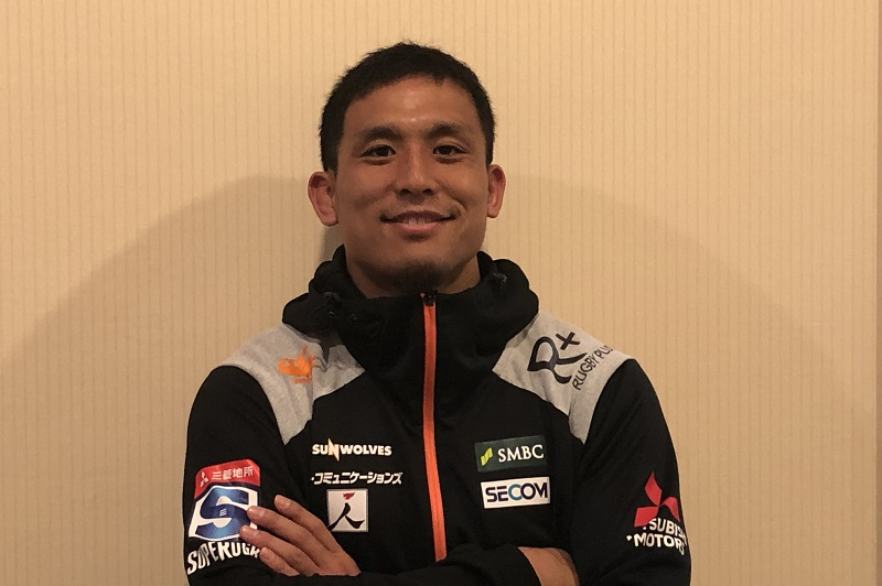 小倉順平が胸中を語る。NTTコム退団、スーパーラグビー挑戦、そして日本代表への熱い思い。