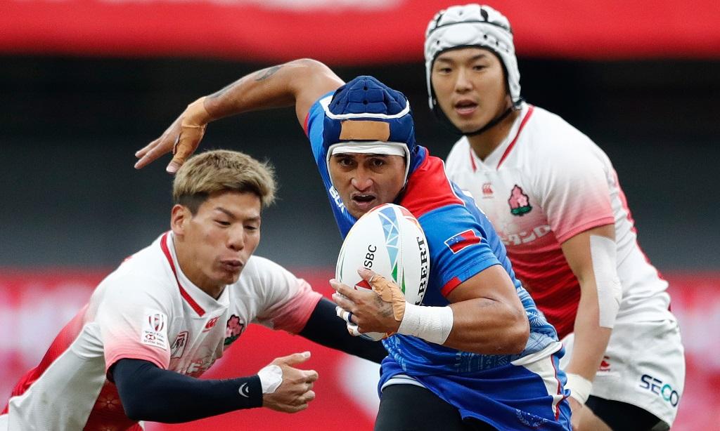 日本はカナダセブンズ最下位 サモアとアイルランドにも敗れる