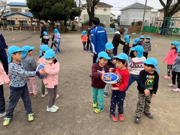 ラグビーが保育&幼稚園行事に。育成事業として群馬県館林市で予算化