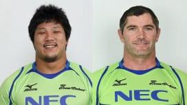 元日本代表の竹中祥、元NZ代表スティーブン・ドナルドらがNEC退団。