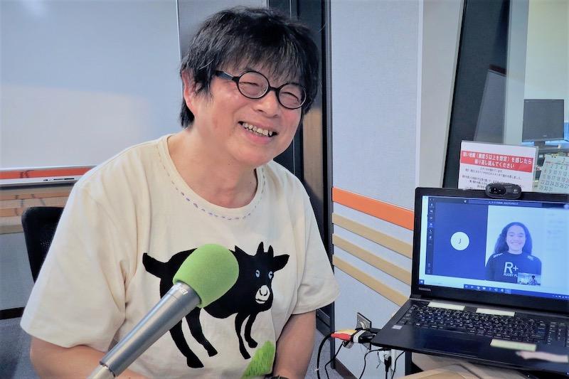 ライチェルの元気をわけてもらおう。「藤島大の楕円球にみる夢」は5月4日放送