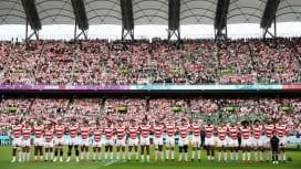 今夏国内で予定していた日本代表試合、ウェールズ戦とイングランド戦は開催中止。