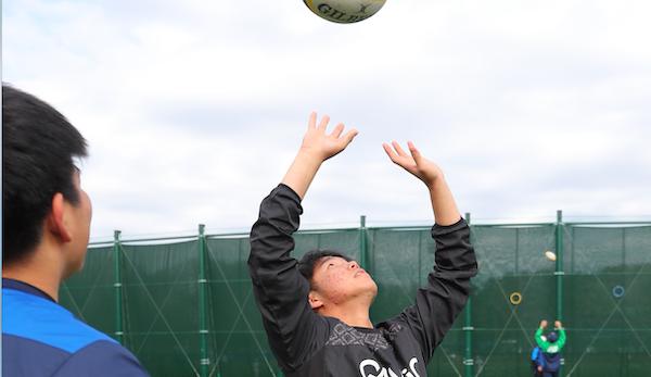 【動画メニュー】桐蔭学園、最高基準のジミ練[6] ハイボールキャッチ