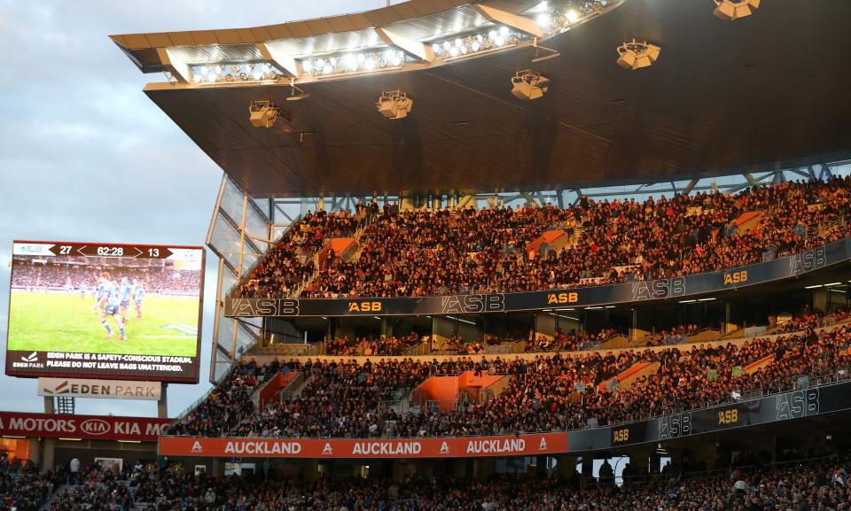 コロナ克服したラグビー王国で歓声響く イーデンパークに約4万3000人の大観衆