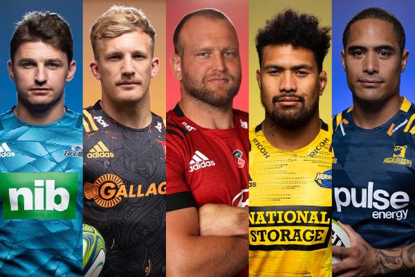 【スーパーラグビー アオテアロア】 NZ全5チーム 写真付き選手名鑑