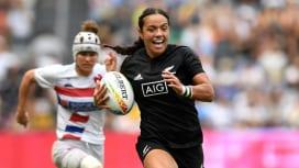 ワールドラグビーセブンズシリーズ2020表彰 女子NZのフルーラーは3冠