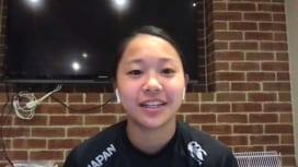 17歳で世界のベスト15に選ばれた津久井萌 来年のW杯へ向け同世代の五輪候補も刺激に