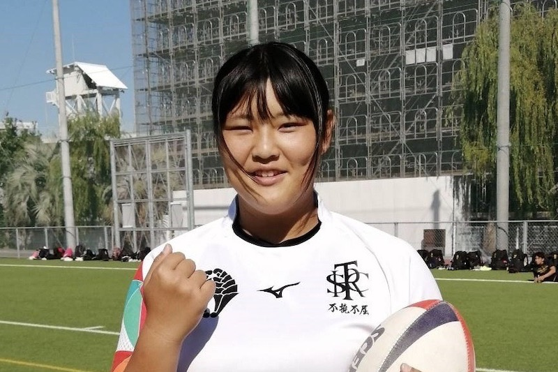 女子ラグビー界の逸材は毎日がたのしい。佐賀工業女子・町田美陽
