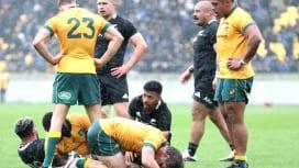 ブレディスローカップ第1戦は死闘引き分け NZ・豪州とも88分超のライバル対決譲らず