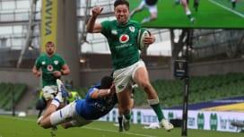 アイルランドがイタリアを圧倒 首位浮上で2年ぶりのシックスネーションズ優勝に王手