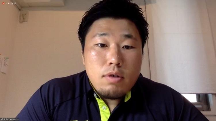 選手会長のNEC・川村慎が全てのラグビー選手に「人生を楽しんで」と話すわけ。