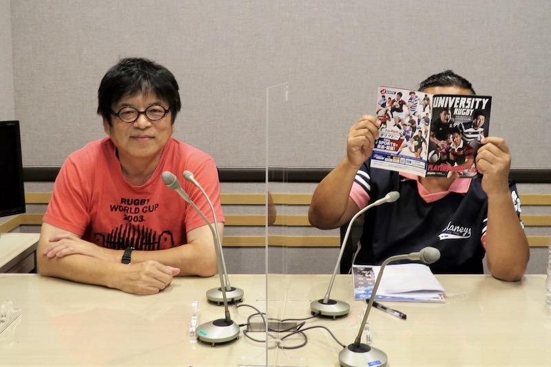 「藤島大の楕円球にみる夢」は10月5日放送。大学ラグビー情報満載だ。