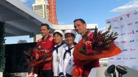 """元NZ代表のスミスとクルーデンが神戸で会見 新たな大物""""スティールワーカー""""に期待高まる"""