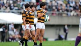 慶大・山田響は「自分のプレーと向き合う」。試合終了間際のペナルティゴールも堂々と。