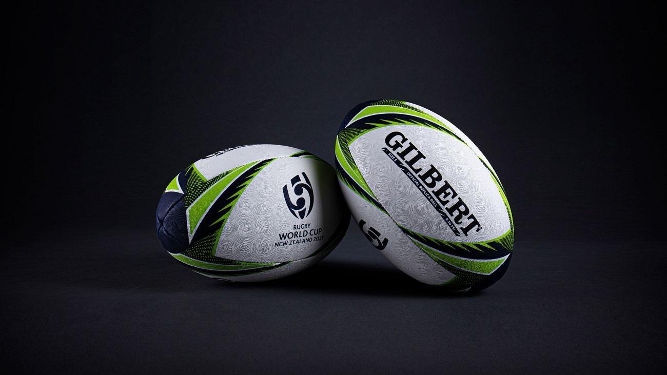 ラグビーワールドカップ2021 NZ大会(女子)の公式ボール初公開
