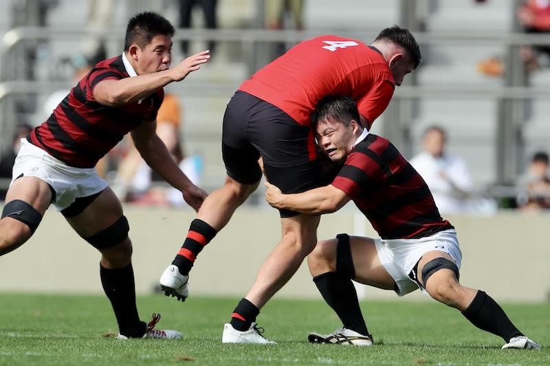大学からラグビーを始めた男、初舞台で暴れる。早大FL坪郷智輝