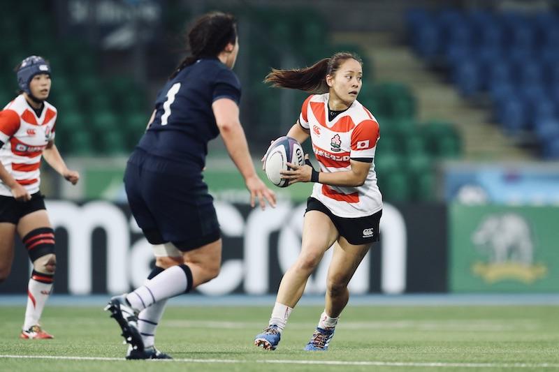 女子日本代表CTB、鈴木彩香(アルカス熊谷)が英・ワスプスへ。
