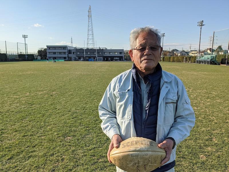 75歳のミスター・リコー。グラウンド管理の匠・上床停喜さんのラストシーズン。