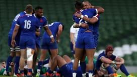 フランスが欧州6か国対抗戦2連勝 10年ぶりにダブリンでアイルランド撃破