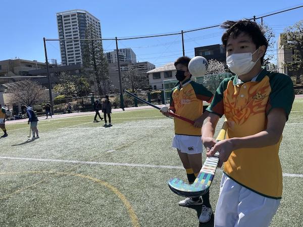 はじめての「ホッケー×ラグビー体験会」。ノーサイドゲームのゲストたちが盛り上げた! 他競技どうしで地域スポーツを支える試みも