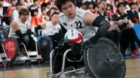 「不撓不屈」の精神でパラリンピックに挑む。〜18歳車いすラガーマンの決意〜