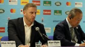 ワールドラグビーの新しいCEOにアラン・ギルピン氏が就任