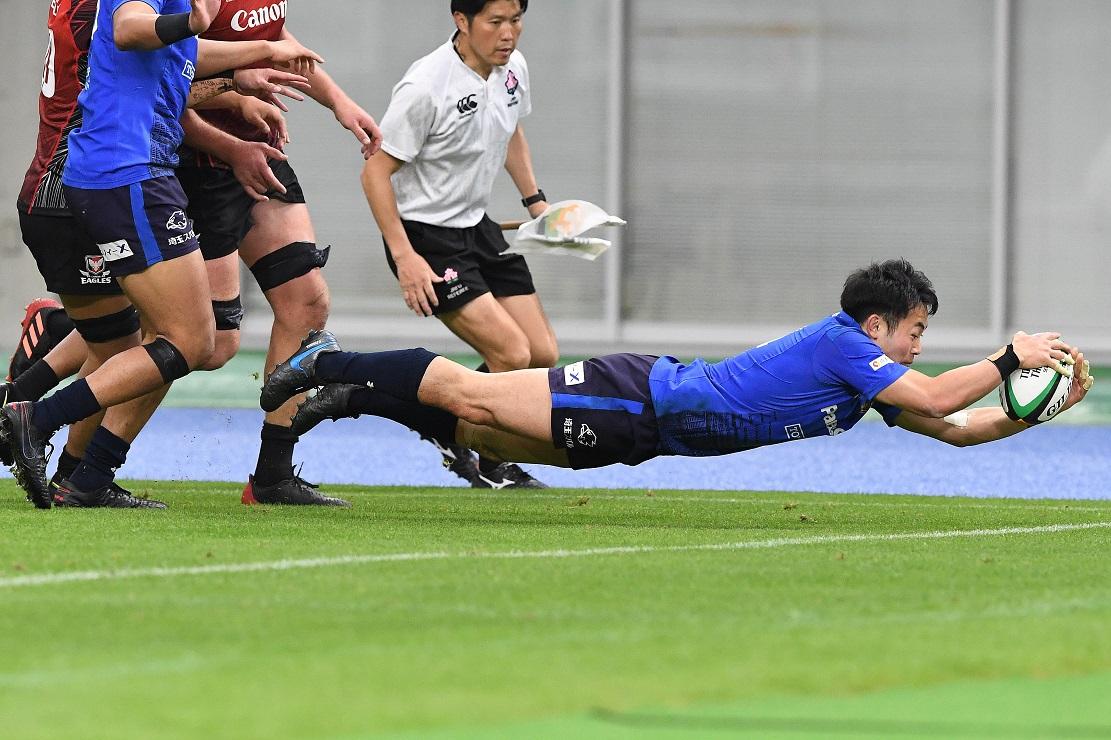 優勝を期するラストシーズン。今季限りでの引退を決めている福岡堅樹が躍動