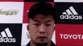 素朴な新人賞候補。トヨタ自動車の秋山大地、日本代表入りへの課題と手応え語る。