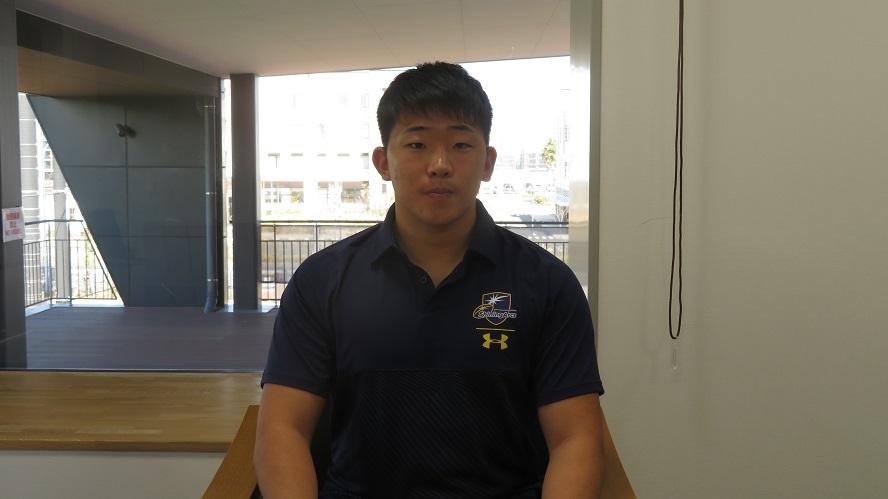 NTTコムに高校生選手が練習参加。小倉高・久木野太一は「驚きでいっぱい」。