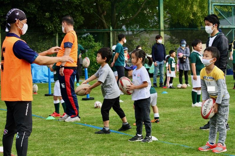 杉並少年ラグビースクールが4月18日(日)にラグビー体験教室開催