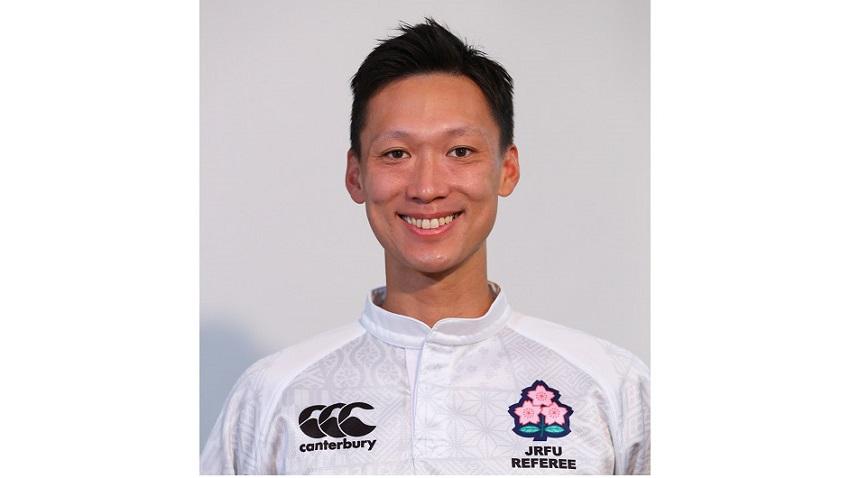 橋元教明レフリー、東京オリンピック7人制ラグビーのマッチオフィシャルに選出!