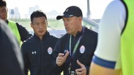 韓国7人制ラグビー五輪代表に流経大前コーチ、チャーリーさん合流。