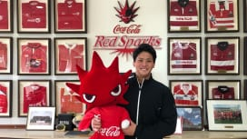 帝京大出身の野田響、憧れていたコカ・コーラレッドスパークスに入団。