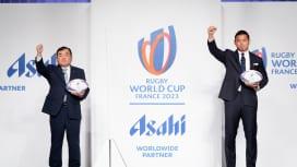 アサヒビールがアジア企業初の2023W杯フランス大会、ワールドワイド・パートナーに..