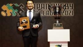 トップリーグMVPは福岡堅樹! 新人賞は竹山晃暉と金秀隆。稲垣、バレットらベスト15