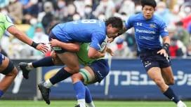 日本代表候補入りのディラン・ライリーは、パナソニックでプレーの「幅が広がった」。